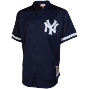 Bernie Williams New York Yankees Mitchell & Ness Batting Practice Jersey