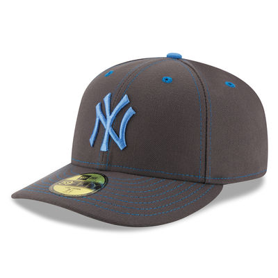 Men s New York Yankees New Era Graphite 59FIFTY Fitted Hat - NY ... 5023707cea7