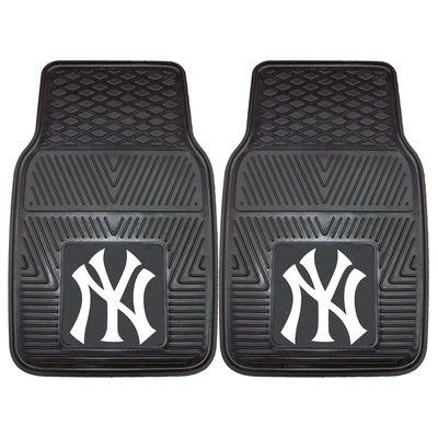 New York Yankees 27″ x 18″ 2-Pack Vinyl Car Mat Set
