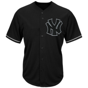 New York Yankees Majestic Big & Tall Pop Fashion V-Neck Jersey