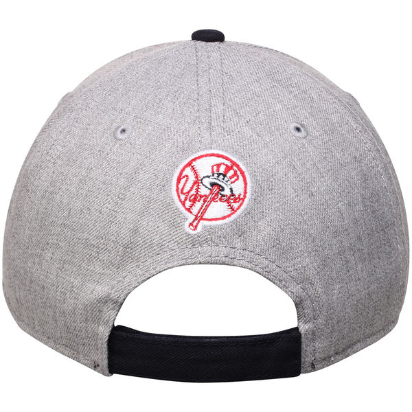 New York Yankees New Era Heathered 9FORTY Adjustable Hat - NY Sports ... 63f4de26a09