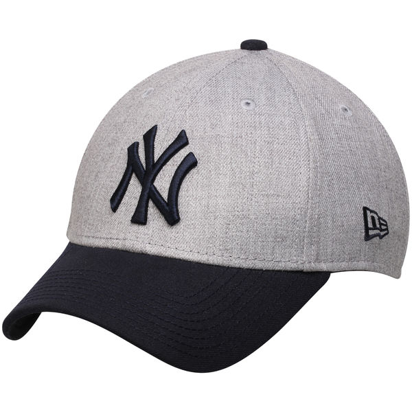 496152830a6 New York Yankees New Era Heathered 9FORTY Adjustable Hat - NY Sports ...