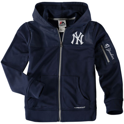 quality design aa929 3474a Youth New York Yankees Majestic Navy Hoodie