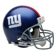 NEW YORK GIANTS VSR4 AUTHENTIC HELMET