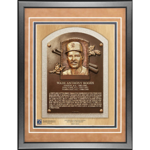 Wade Boggs 11×14 Framed Baseball Hall of Fame Plaque–
