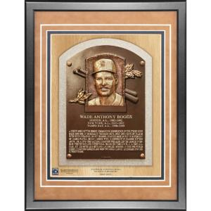 Wade Boggs 11×14 Framed Baseball Hall of Fame Plaque–