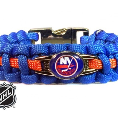 OFFICIALLY LICENSED NHL NEW YORK ISLANDERS PARACORD BRACELET