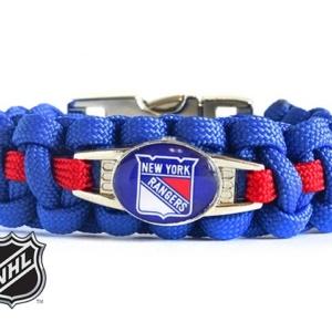 OFFICIALLY LICENSED NHL NEW YORK RANGERS PARACORD BRACELET