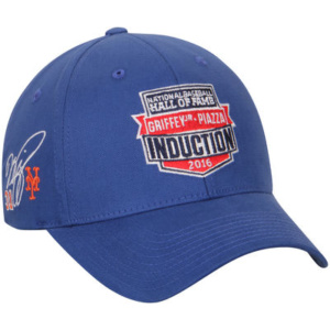 Men's Mike Piazza American Needle Royal 2016 MLB Hall of Fame Induction Signature Adjustable Hat