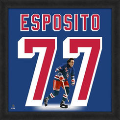 Phil Esposito New York Rangers Players 20″ x 20″ Uniframe