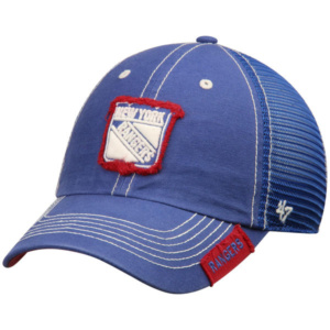 New York Rangers '47 Turner Clean Up Adjustable Hat – Blue-