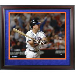 Mike Piazza Framed Uns 8×10 Photo Of Homerun From September 21, 2001