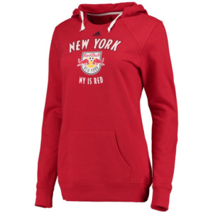 New York Red Bulls Women's Red Arched Gel Hoodie-
