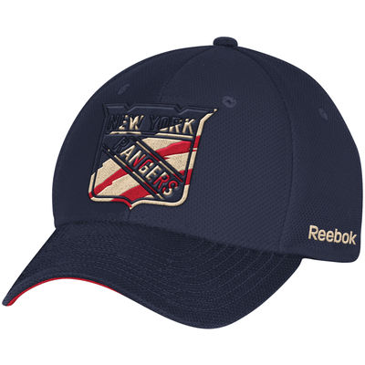 New York Rangers Reebok Patriotic Structured Flex Hat - Navy - NY ... 8d0be45c663