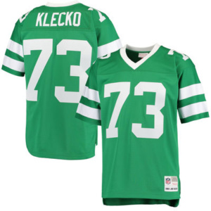 Joe Klecko New York Jets Mitchell & Ness Retired Player Replica Jersey – Green