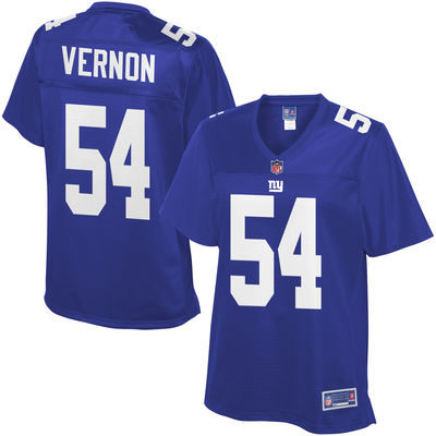 7e37f0ed7 WOMEN S NEW YORK GIANTS OLIVIER VERNON PRO LINE ROYAL PLAYER JERSEY