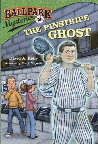 The Pinstripe Ghost (Ballpark Mysteries) Paperback –book