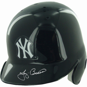 Yogi Berra Signed New York Yankees Mini Helmet LE/50