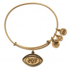 New York Jets Football Charm Bangle