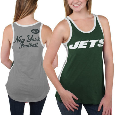 Women's New York Jets Green Home Game Tank Top