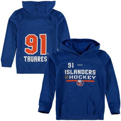 Youth New York Islanders John Tavares Reebok   Name & Number Hoodie