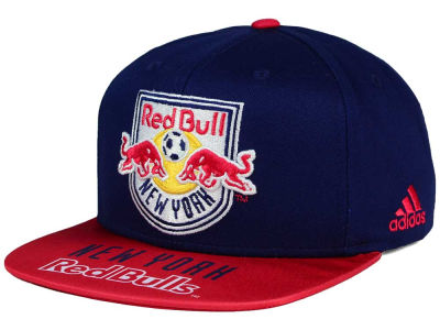 New York Red Bulls adidas MLS Skyline Snapback Cap - NY Sports Shop b54969a7ff4