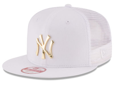 5b79b826 New York Yankees New Era MLB Metal Trucker 9FIFTY Snapback Cap - NY ...