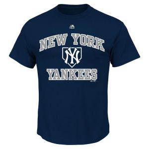 New York Yankees MLB Men's Hit and Run T-Shirt