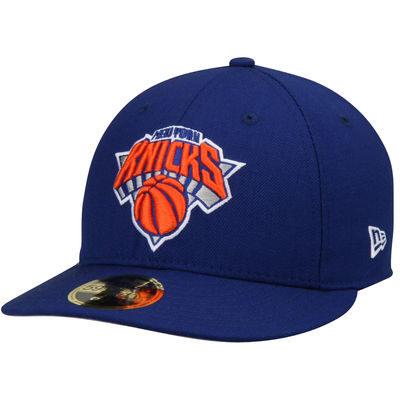 Men's New York Knicks New Era Royal Official Team Color Low Profile 59FIFTY Fitted Hat