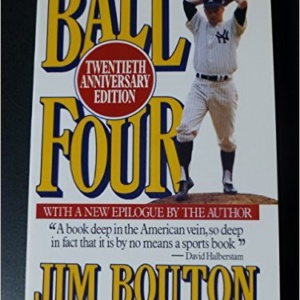 Ball Four Edition 20th Anniversary By Bouton Jim