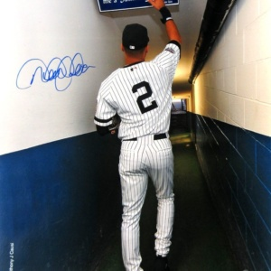 Derek Jeter Autographed/Signed New York Yankees 16×20 Iconic Anthony J. Causi Collection Stadium Tunnel Photo – Steiner & MLB Authenticated