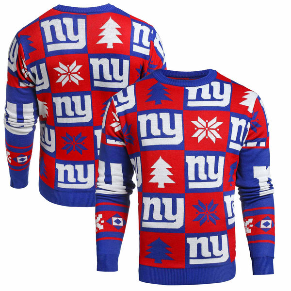 buy online 8bc13 5eb74 NY GIANTS GOOD LUCK UGLY SWEATER ! - NY Sports Shop