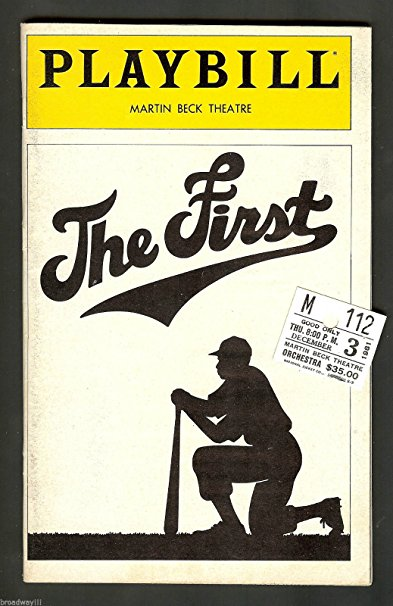 "David Alan Grier ""THE FIRST"" (Jackie Robinson) Lonette McKee 1981 FLOP Playbill"