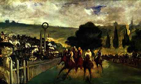 Horse Racing at Longchamps by Edouard Manet. Photograph: Art Institute of Chicago
