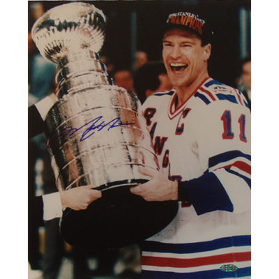 Mark Messier Hand-Signed 16x20 With Certificate Of Authenticity