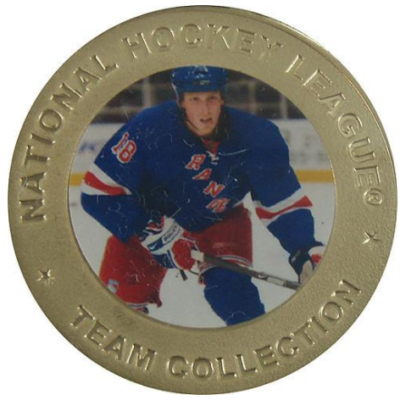 Marc Staal #18 NY Rangers Highland Mint Bronze Collectors Coin