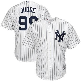Men's New York Yankees Aaron Judge Majestic Home  Jersey