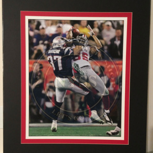 DAVID TYRES-photograph of the greatest catch in super bowl history-