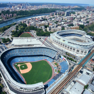 OLD AND NEW YANKEE STADIUM