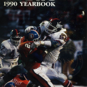 GIANT YEARBOOK-1990  TRUE BLUE