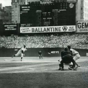 1953 World Series Game 1, Dodgers at Yankees, September 30