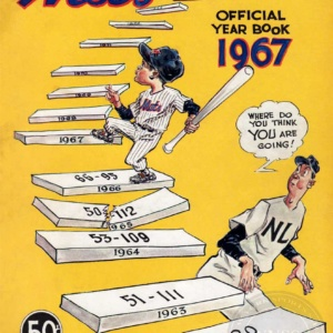 1967 NY METS YEARBOOK