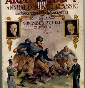 ARMY-NAVY GAME PROGRAM.1926