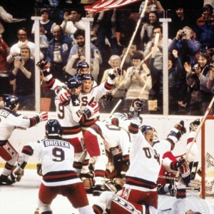 """Miracle on Ice"" ,1980 Winter Olympics in Lake Placid"