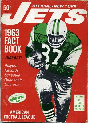1ST YEAR AS JETS YEARBOOK - INAUGURAL JETS SEASON (AFL)