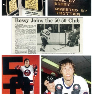 BOSSY JOINS 50-50 CLUB