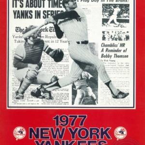 new york yankees,1977, Yankee first baseman Chris Chambliss