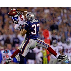David Tyree Signed SuperBowl XLII Catch Against Patriots –