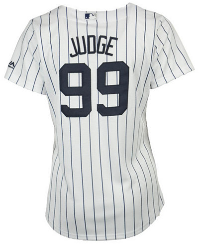 Majestic Women s Aaron Judge New York Yankees Cool Base Player Replica  Jersey 04f3956ac14