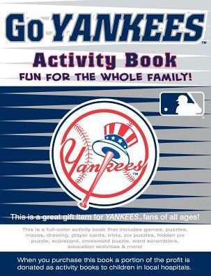 Go Yankees Activity Book